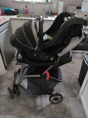 Infant car seat, base, and stroller for Sale in Dallas, TX