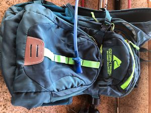 OZARK TRAIL OUTDOOR BACKPACK WITH WATER BAG for Sale in Lynwood, CA