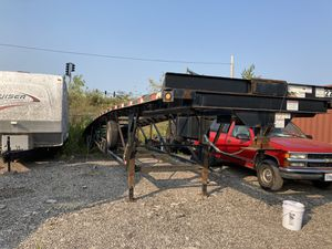 2016 Kaufman 3 car hauler trailer, in good condition, no cracks on the frame, new brakes and bearings,new tires. Ready to go on the road. for Sale in IL, US