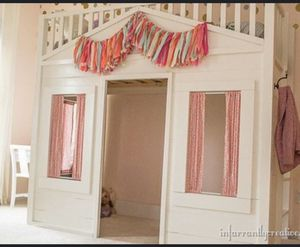 Pottery barn playhouse bed 🛌/ $500 for who picks up first for Sale in Laurel, MD