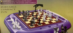 Portable Chess Board Game Set for Sale in Garden Grove, CA