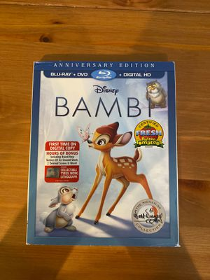 Disney's Bambi Blu-Ray & DVD for Sale in Davie, FL