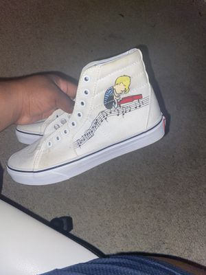 Charlie brown Vans never wore for Sale in Columbus, OH