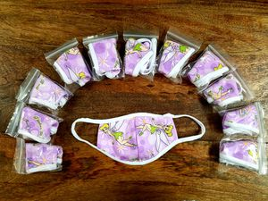 12 kids purple Tinker bell masks for $12 for Sale in Arcadia, CA