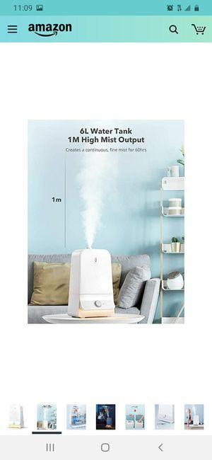 Ultrasonic cool mist humidifier for Sale in Las Vegas, NV