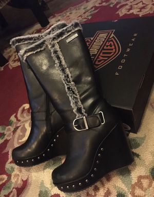 New Harley Boots size 7.5 for Sale in Raymore, MO