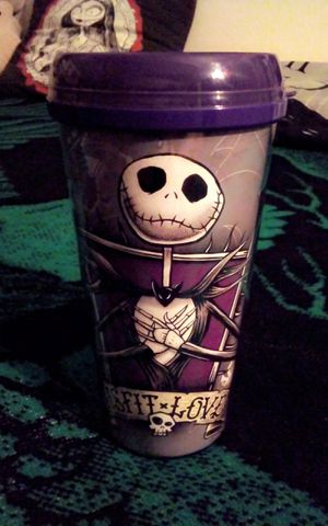 Disney The Nightmare Before Christmas Coffee thermal mug for Sale in Fresno, CA