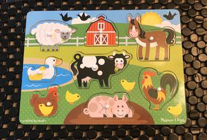 Melissa and Doug Farm Animal Puzzle for Sale in Smyrna, TN