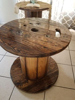 Wooden spool for Sale in Sebring, FL