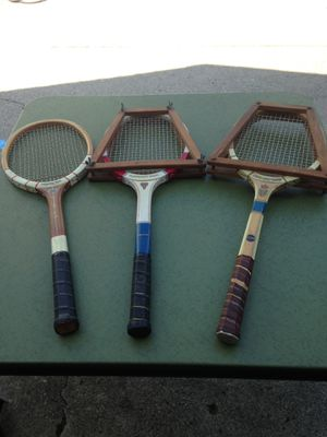 Vintage tennis rackets for Sale in Parma, OH