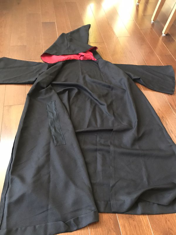 Harry Potter robe, wand and glasses - adult size