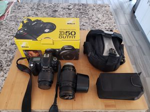 Nikon D50 camera & 2 lenses for Sale in Tempe, AZ