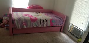 Pink trundle bed for sale 150 obo for Sale in Lake Wales, FL