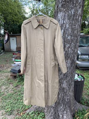 vintage Burberry Trench coat for Sale in San Antonio, TX