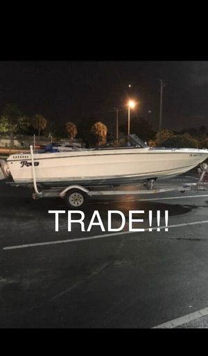 '84 Renken 18ft with 140 mercruiser inboard *open to trade* for Sale in Miami, FL