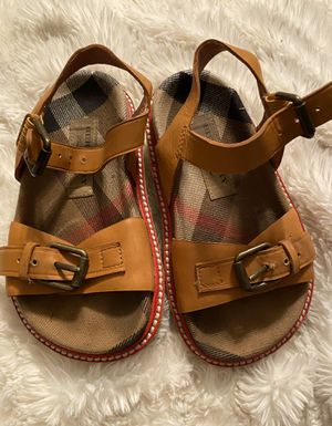 Girl Burberry Sandals for Sale in Dallas, TX
