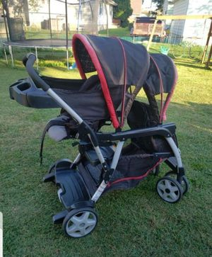 double stroller for Sale in Glen Burnie, MD