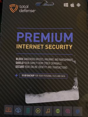 Total defense premium internet security for Sale in High Point, NC