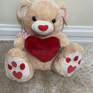 25 In Valentine Teddy Bear for Sale in The Bronx, NY