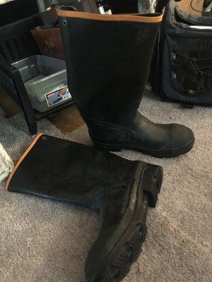 Sweet creek rubber boots size 10 men's for Sale in Montgomery, AL