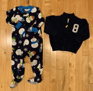 Carter's 18 months Sleeper & Sweater for Sale in Naperville, IL