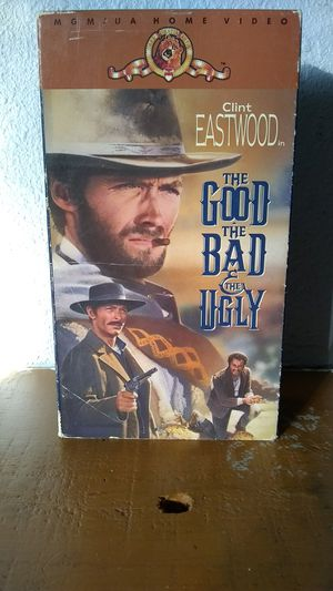 The Good The Bad and The Ugly VHS for Sale in Tracy, CA