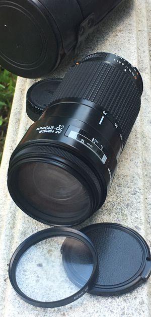 Nikon AF Nikkor 70-210mm f4 Lens for Sale in Pembroke Pines, FL