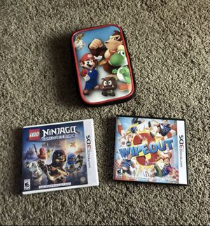 Nintendo 3DS Games & Case for Sale in Lombard, IL