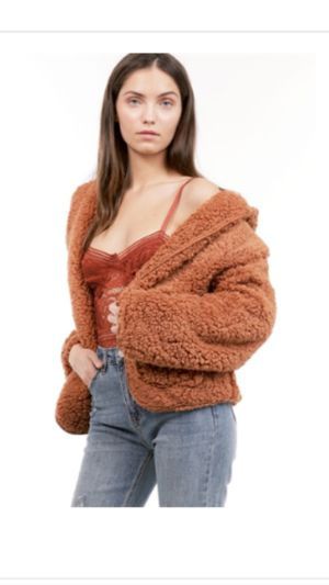 new size medium/large furry jacket $15 FIRM for Sale in Compton, CA