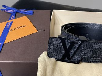 Men's Louis Vuitton Signature LV Initial Damier Graphite Belt for Sale in Rowland Heights,  CA