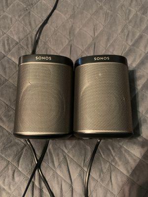 Sonos speaks and subwoofer for Sale in Visalia, CA
