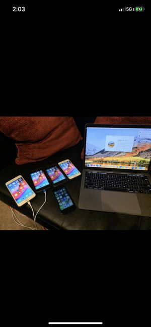 Mac book & T-Moblie iPhones for sale (READ AD) for Sale in Bensalem, PA