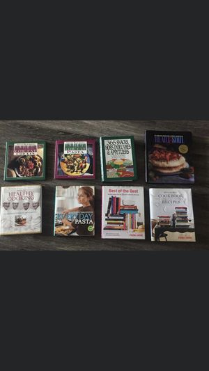 Cookbooks Hardback for Sale in Brookhaven, GA