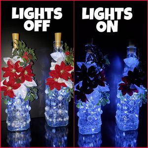 HANDCRAFTED LIGHTED CHRISTMAS BOTTLES for Sale in Buena Park, CA