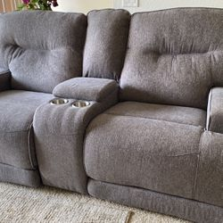 Grey Couch - Few Months Old! for Sale in Villa Park,  CA