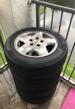Honda Tires and Rim Set of 4 for Sale in Orlando, FL