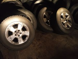 245 / 65 / 17 Ford light truck rims & tires for Sale in Maple Valley, WA