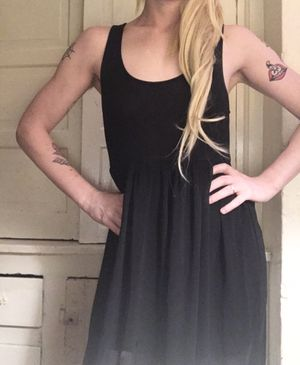 Black floor length maxi dress for Sale in Portland, OR