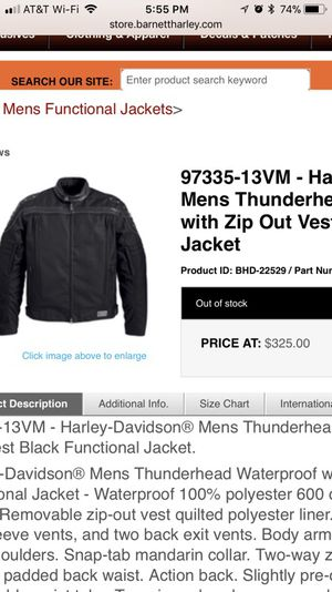Harley jacket for Sale in FT LEONARD WD, MO