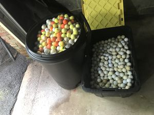 1,600 plus golf balls from my caddie days all types for Sale in Silver Spring, MD
