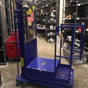 Ballymore Power Stocker Lift Forklift Scissor Rolling Ladder Alternative for Sale in Seaford, NY