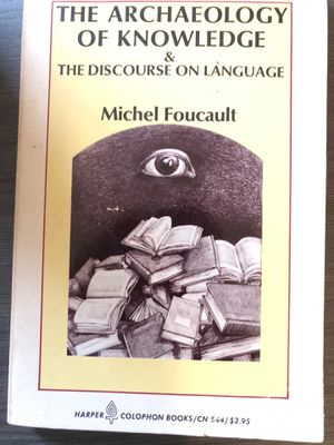 The Archaeology of Knowledge & The Discourse on Language for Sale in Washington, DC