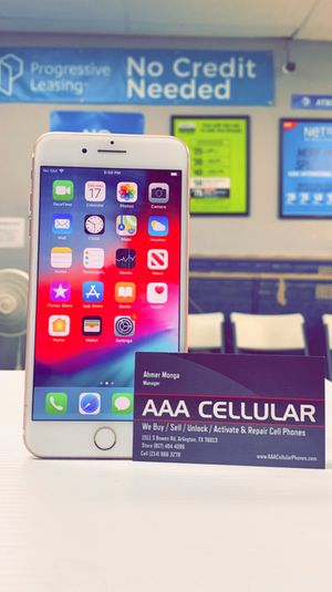 Apple iPhone 6S Plus 16gb Factory Unlocked, Like New, Free Charger and 30 days Warranty! for Sale in Arlington, TX