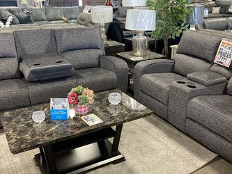SELF charging Sofa & Loveseat ❤️‼️👏 Easy Financing! $27 Down! 90 Days Are As Cash! NO CREDIT NEEDED 🤩💕 $1,999! for Sale in Sloan,  NV