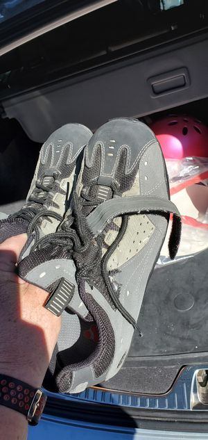 Specialized bike shoes, suede leather for Sale in Mountain View, CA