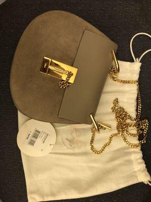 Chloe Drew Shoulder Bag Surde Calfskin (Mitty Grey) for Sale in Diamond Bar, CA