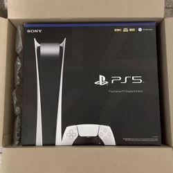 Sony PlayStation 5 PS5 Digital Edition for Sale in La Puente,  CA