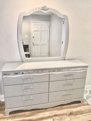 Two silver princess mirror dressers for Sale in Charlotte, NC