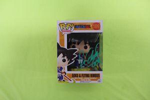 Sean Schemmel Signed Autograph Autographed Goku Funko Pop DragonBall Z 109 for Sale in San Jose, CA