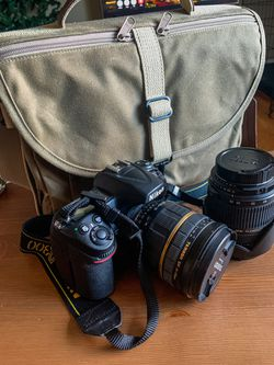 Nikon D300 W/ Two Tamron Lenses And Domke Bag for Sale in Denver,  CO